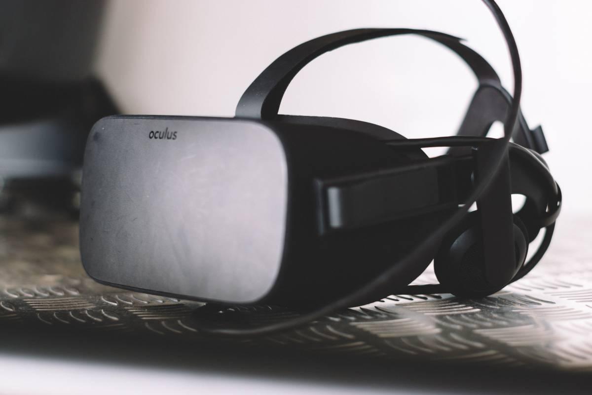 Die Virtual Reality Brille von oculus.