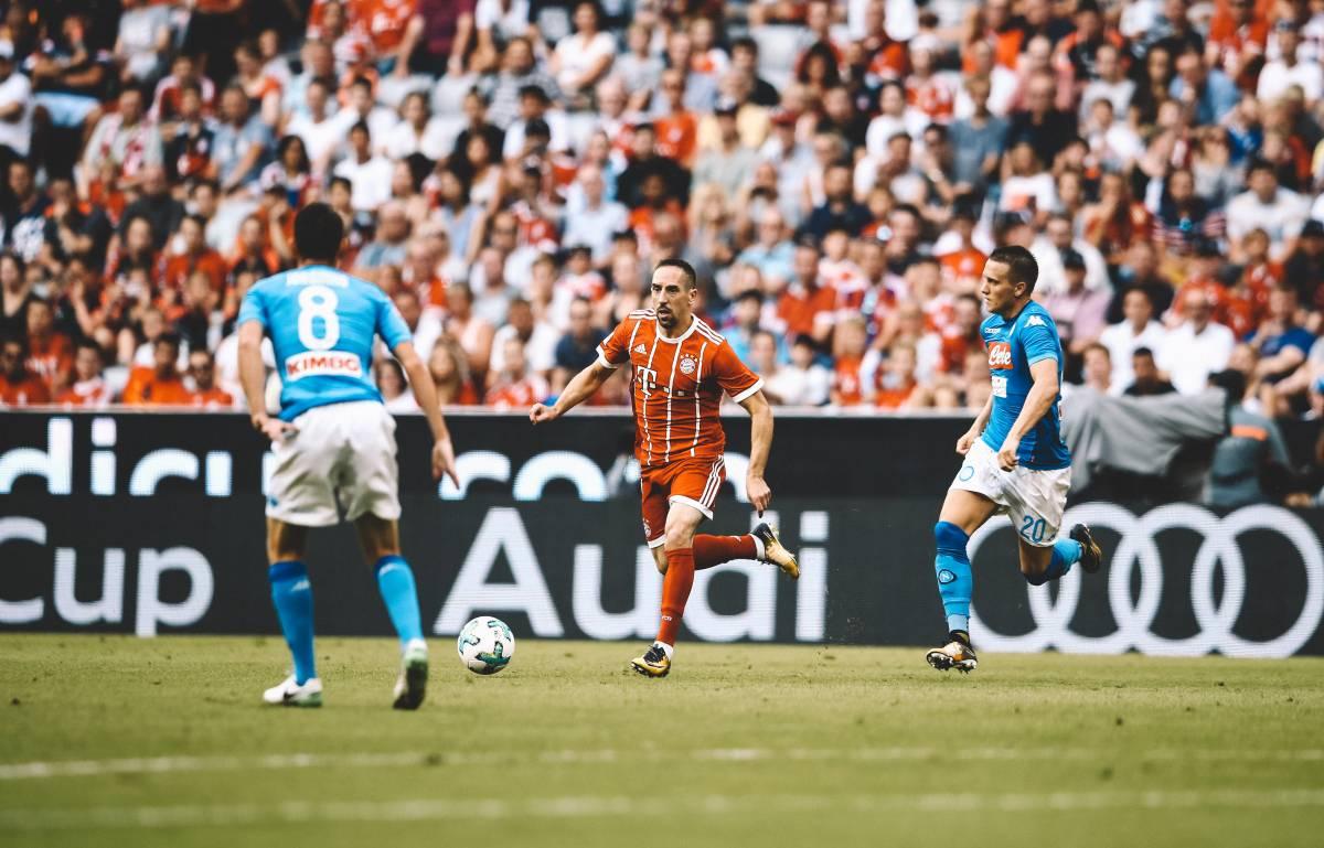 Franck Ribery am Ball.