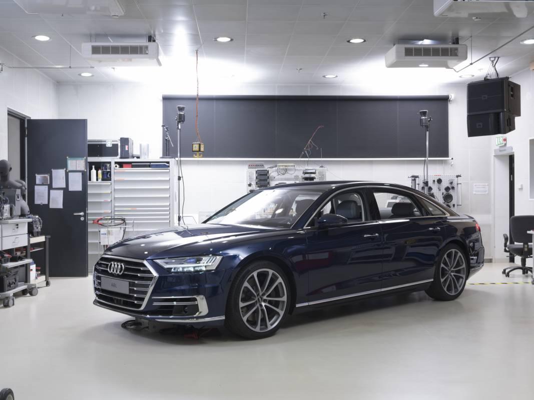 Audi 3D Klang im neuen Audi A8