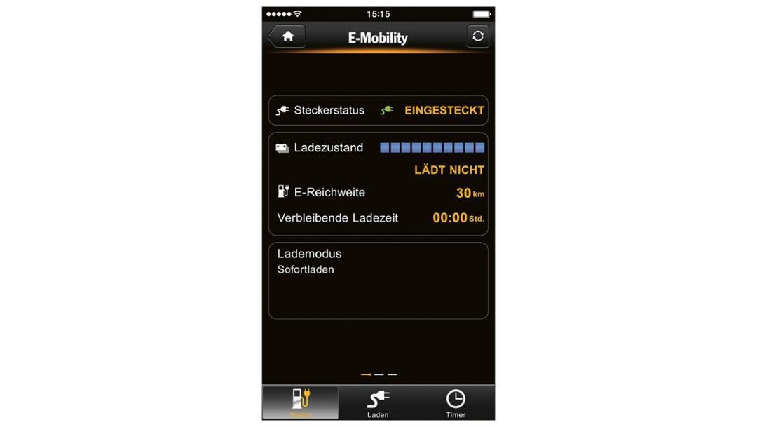 Smartphone App, Vernetzt und flexibel, 2017, Porsche AG