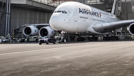 Air France und Porsche: Eintrag ins Guinness-Buch der Rekorde