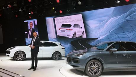 Noch mehr 911 im SUV: der neue Porsche Cayenne Turbo