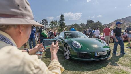 Millionster 911 auf der Monterey Car Week