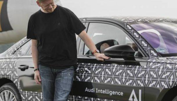 Stau und Audi Ai