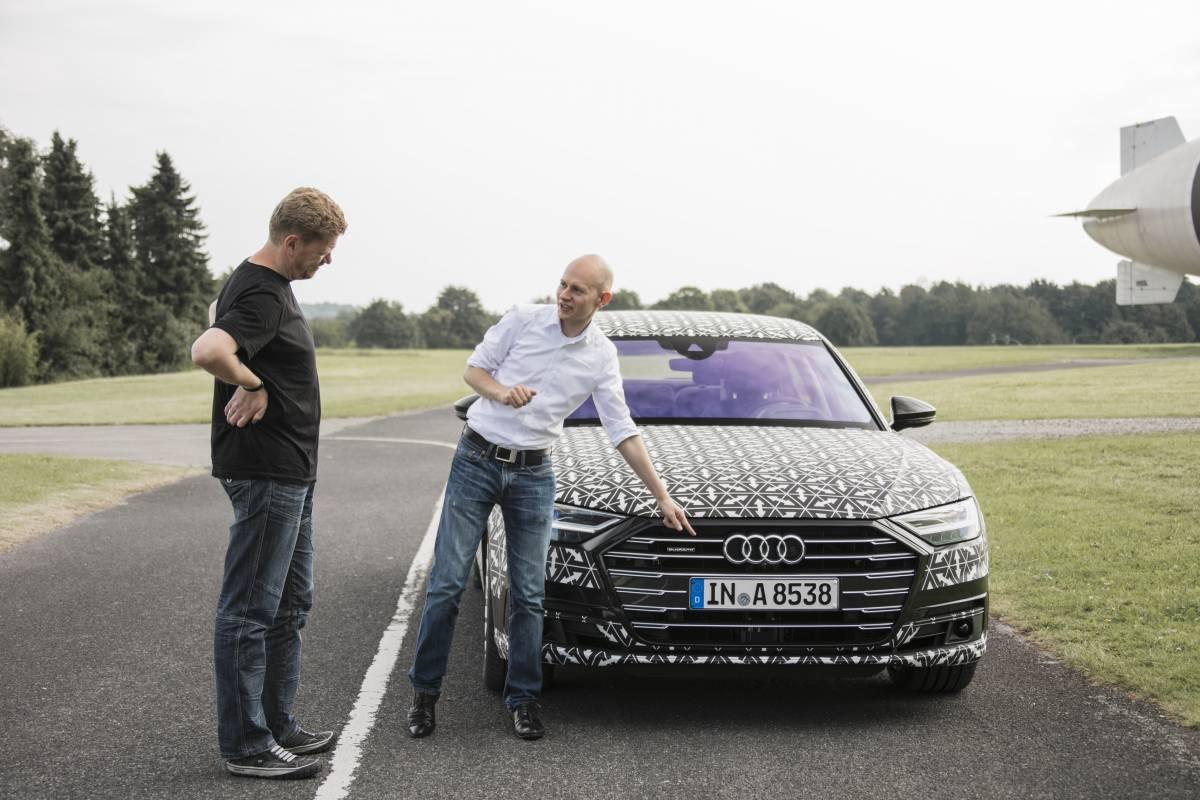 Audi AI im neuen Audi A8