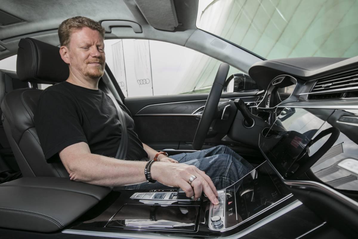 Audi AI auf Knopfdruck.