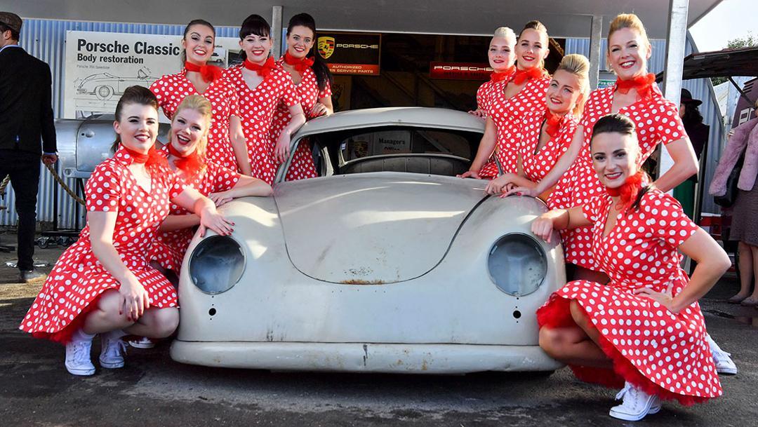 Goodwood Revival, Goodwood Motor Circuit, Südengland, 2017, Porsche AG
