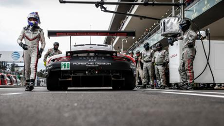 Bamber und Tandy bei Petit Le Mans