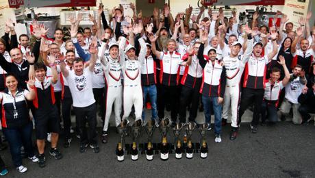 Porsche feiert überlegenen Doppelsieg in Mexiko