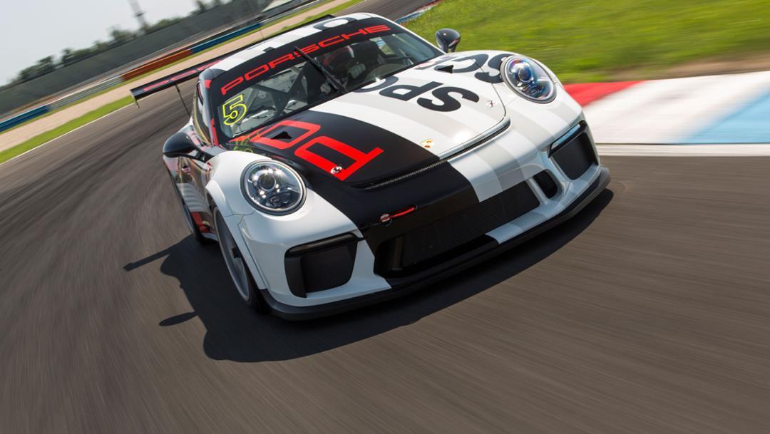 Porsche Motorsport Tracktest auf dem Lausitzring