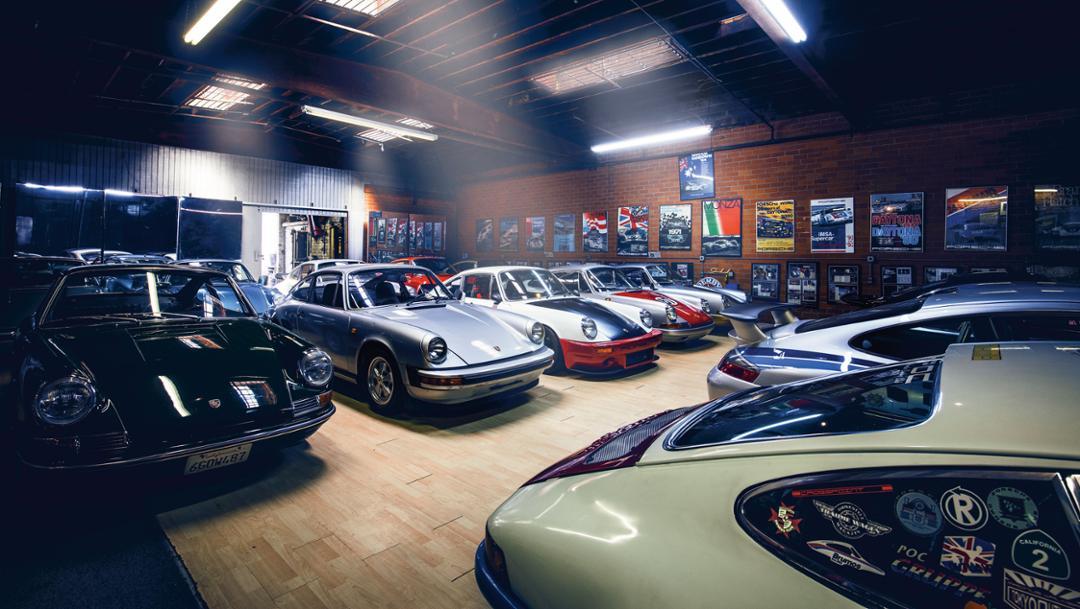 Magnus Walkers Garage, 2017, Porsche AG