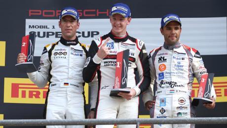 Start-Ziel-Sieg für Porsche-Junior Dennis Olsen