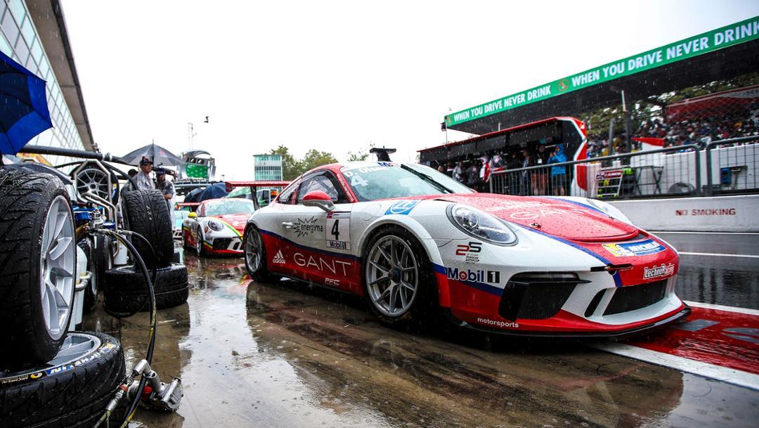 911 GT3 Cup, Porsche Mobil 1 Supercup, Qualifying, Monza, Italien, 2017, Porsche AG