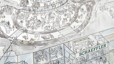 Schaeffler baut in China ein neuartiges Werk