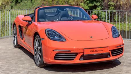 Porsche verlost 718 Boxster beim Leipziger Opernball