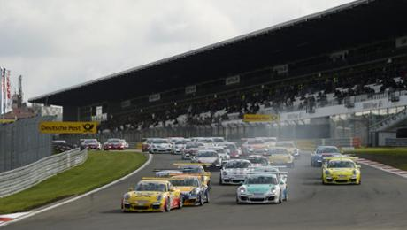 Zweimal Porsche Carrera Cup am Nürburgring