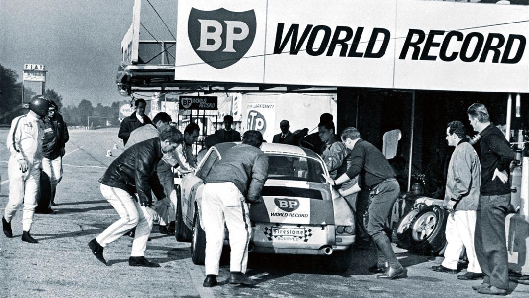 Boxenstopp, Autodromo Nazionale di Monza, 1967, Porsche AG