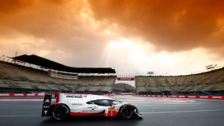 Porsche LMP Team mit Trainingsbestzeiten in Mexiko