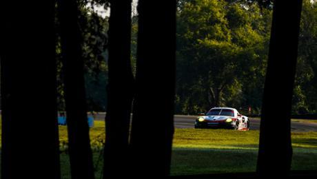 Porsche GT Team in Virginia Siebter und Achter