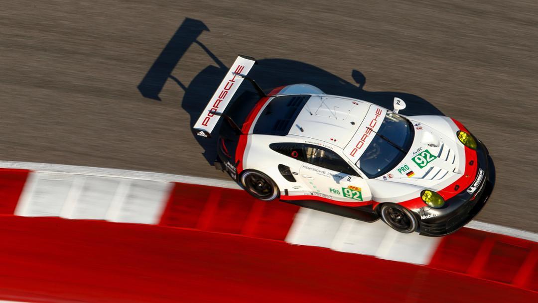 911 RSR, WEC, Qualifying, Austin, 2017, Porsche AG