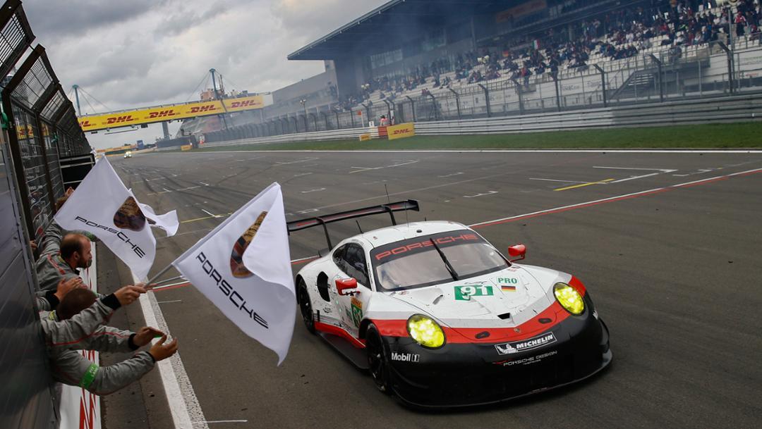 911 RSR, WEC, Runde 4, Nürburgring, 2017, Porsche AG