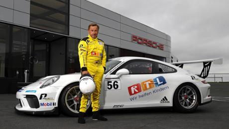Richy Müller startet im Porsche Carrera Cup
