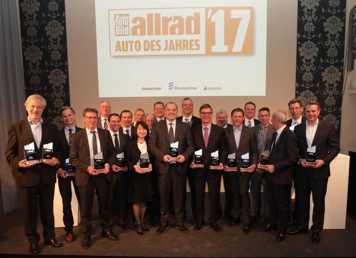 ALLRAD-AUTO DES JAHRES 2017: Das sind die Gewinner der Leserwahl