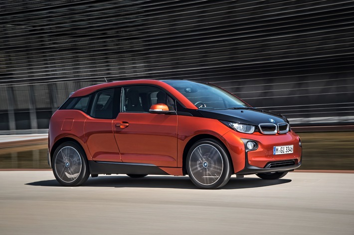 BMW i3 Weltpremiere in New York, London und Peking (BILD)