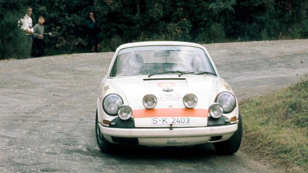 Gérard Larrousse, 911 R, Tour de Corse 1969, 2017, Porsche GA