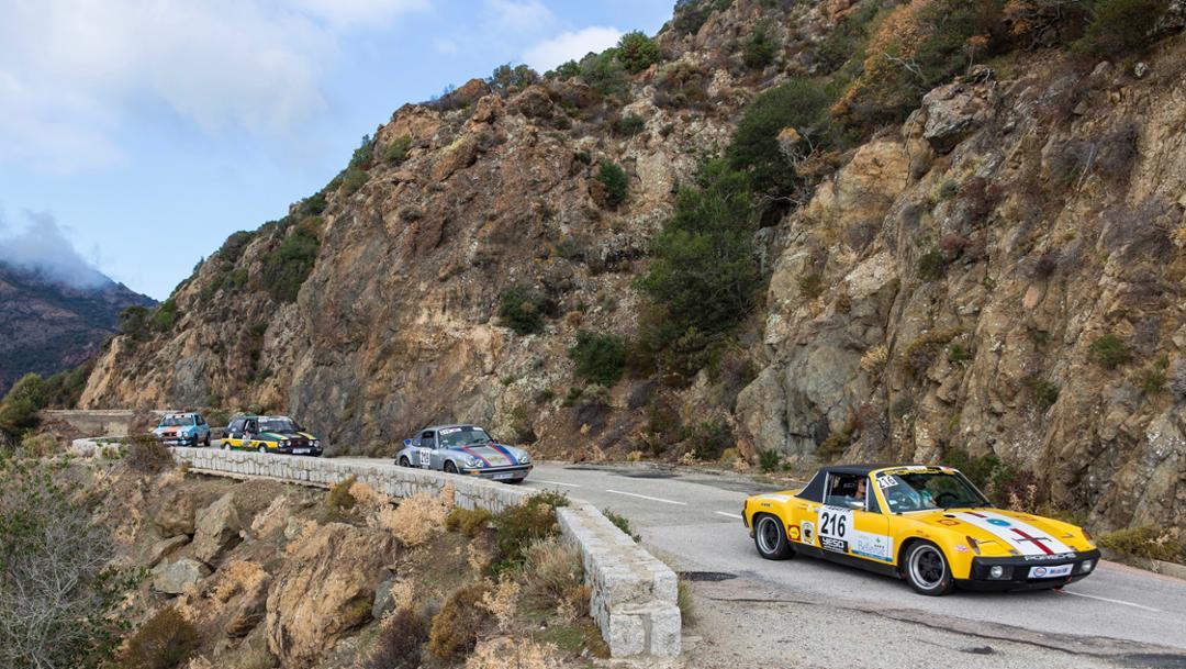 Tour de Corse, 2017, Porsche AG