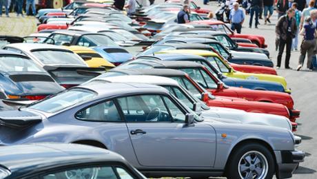Porsche feiert 40 Jahre 911 Turbo