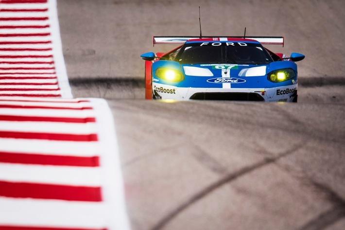 Ford GT-Piloten trotz schwierigem WEC-Lauf in Texas weiter WM-Spitzenreiter