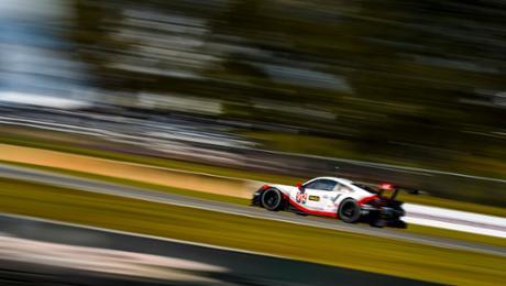 Schwieriges Qualifying für 911 RSR auf der Road Atlanta