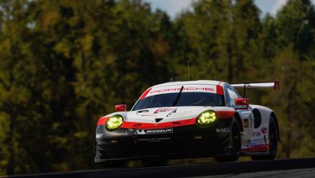 Porsche GT Team mit 911 RSR vor Sieg im North American Endurance Cup