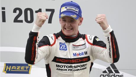Porsche Carrera Cup: Doppelsieg für Olsen