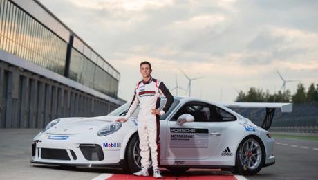 Julien Andlauer wird neuer Porsche-Junior