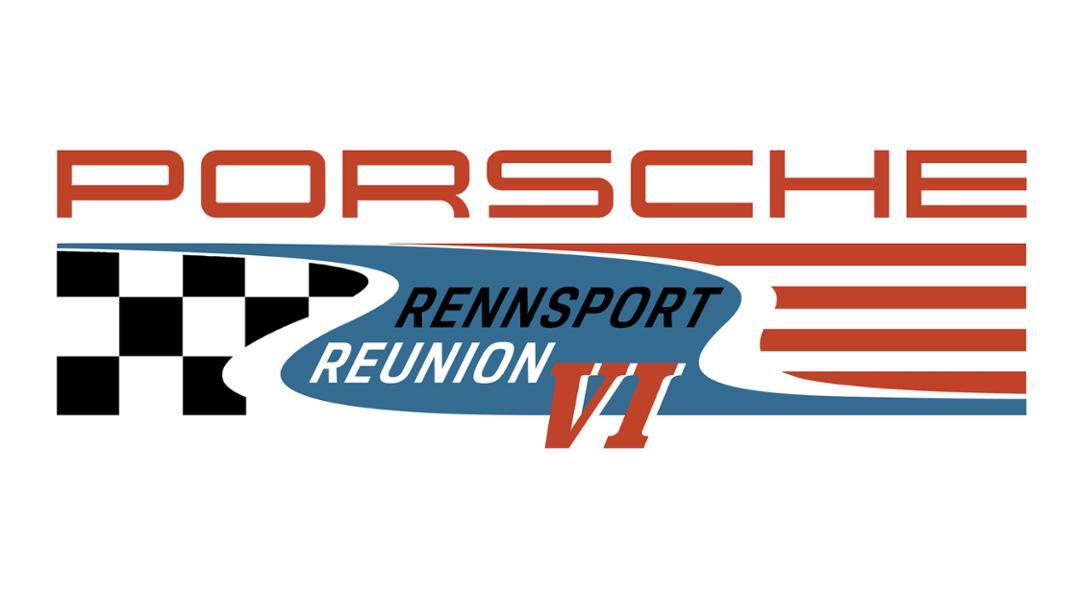 Rennsport Reunion V, Logo, 2017, Porsche AG