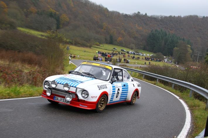 SKODA startet mit acht Fahrzeugen bei der Kult-Rallye Sachsen Classic