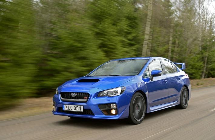 """Subaru WRX STI gewinnt """"sport auto Award"""" / Erster Platz in der Importwertung seiner Kategorie / Dritter Rang im Gesamtranking seiner Klasse"""