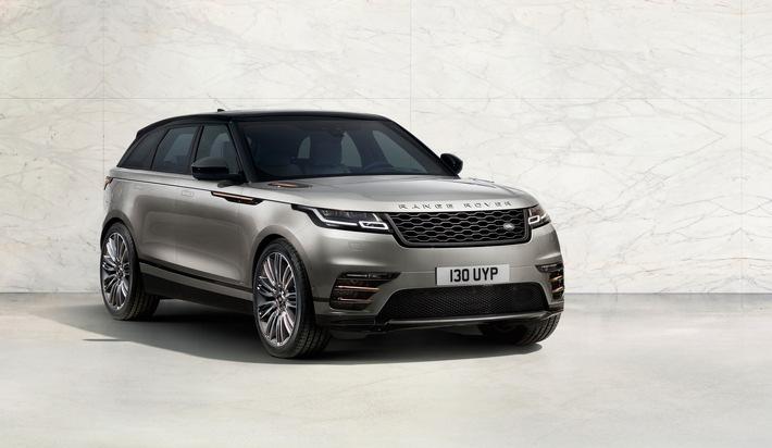 Weltpremiere: der neue Range Rover Velar - pur, elegant und voller Technik